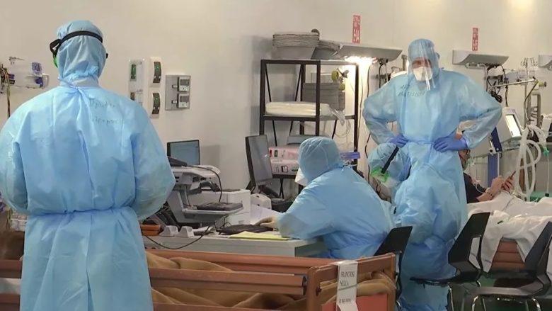 Ruští vojenští lékaři na misi v Itálii; Foto: Ruské ministerstvo obrany