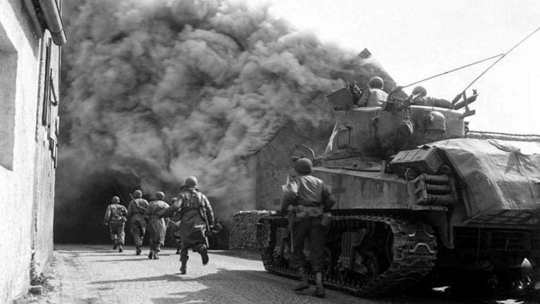Invaze Američanů v Německu; Foto: Wikimedia Commons