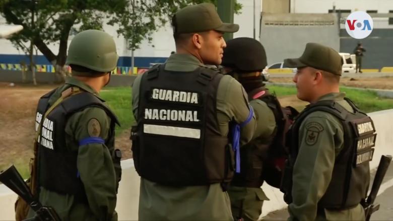 Venezuelští vojáci; Foto: Hlas Ameriky / Wikimedia Commons