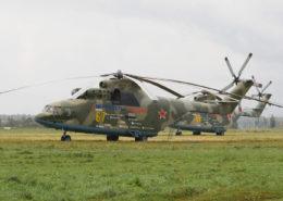 Ruský supertěžký transportní vrtulník Mil Mi-26; Foto: Dmitry A. Mottl / Wikimedia Commons