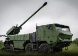 Samohybné dělo Caesar francouzské firmy Nexter na podvozku Tatra; Foto: Tatra Trucks