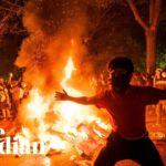 VIDEA: Část amerických policistů podpořila demonstranty