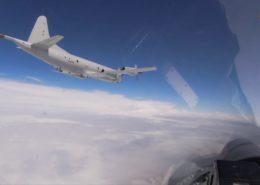 VIDEO: Ruské stíhačky nad Baltským mořem doprovázely americké bombardéry