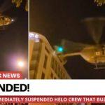 VIDEO: V USA byl proti demonstrantům zneužit vrtulník s označením Červeného kříže