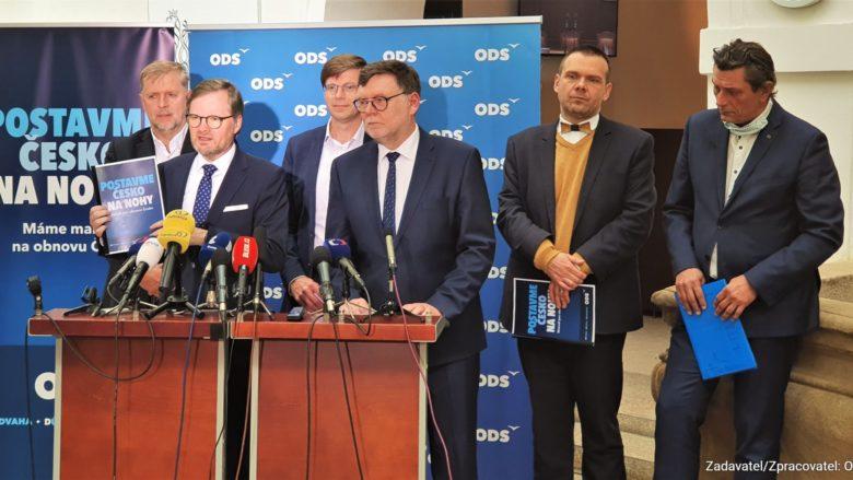 Vedení ODS; Foto: ods.cz
