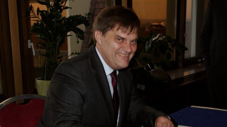 Zmocněnec české vlády pro konzultace s Ruskem Rudolf Jindrák; Foto: Pelz / Wikimedia Commons