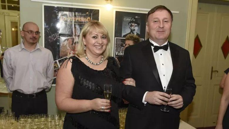 Poslanec ODS a bývalý primátor Jablonce nad Nisou Petr Beitl na snímku z roku 2016 s manželkou; Foto: www.petrbeitl.cz