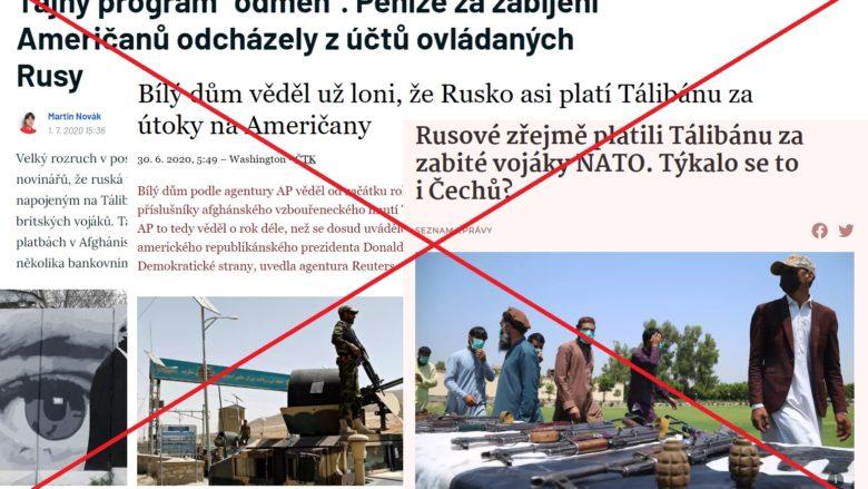 Lživé zprávy českých mainstreamových médií; Koláž: Rudolf Hruboň