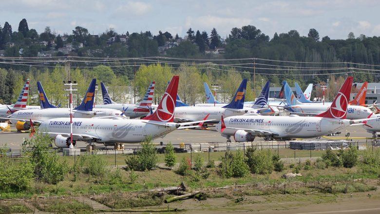 Letouny Boeing 737 MAX nedodané zákazníkům; Foto: Bruce Sounder / Wikimedia Commons
