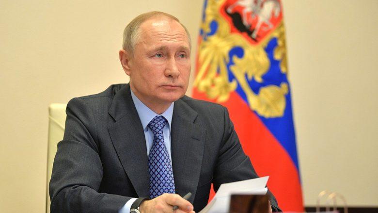 Ruský prezident Vladimir Putin; Foto: Prezidentská tisková a informační kancelář / Wikimedia Commons