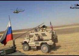 VIDEO: V Sýrii se srazila vozidla ruské a americké armády