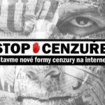 PETICI PROTI CENZUŘE na internetu podepsalo už více než deset tisíc lidí