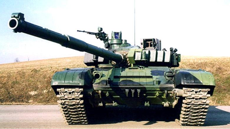 Modernizovaný sovětský tank T-72M4CZ; Foto: Ministerstvo obrany