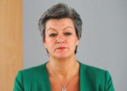 Ylva Johanssonová, evropská komisařka pro vnitřní záležitosti; Foto: Anders Henrikson / Wikimedia Commons
