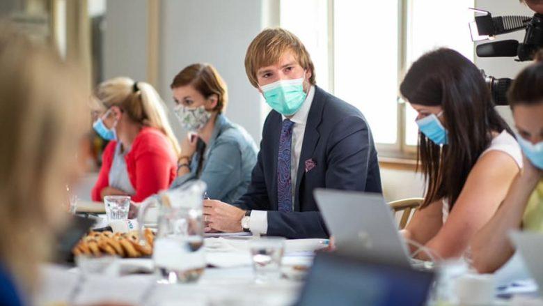 Ministr zdravotnictví Adam Vojtěch (za ANO); Foto: Profil Adama Vojtěcha na sociální síti