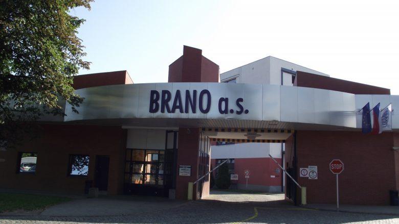 Firma Brano a.s. v Hradci nad Moravicí; Foto: firmy.cz