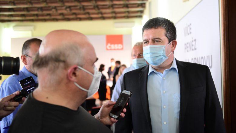 Ministr vnitra Jan Hamáček (ČSSD); Foto: Profil Jana Hamáčka na sociální síti