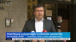 VIDEO: Hamáček mluvil jako monstrum z hororu