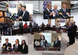 Koláž: Profil Poslanecké sněmovny Parlamentu České republiky na sociální síti