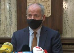 Ministra zdravotnictví Roman Prymula (za ANO); Foto: repro Česká televize