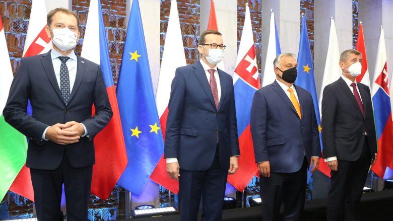 Premiéři zemí V4 na summitu v Lublinu; Foto: Twitter Andreje Babiše