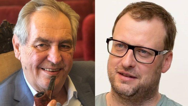 Miloš Zeman a Svatopluk Bartík; Koláž: sociální sítě