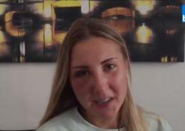 Napadená studentka Elisabetha; Foto: Repro France Bleu
