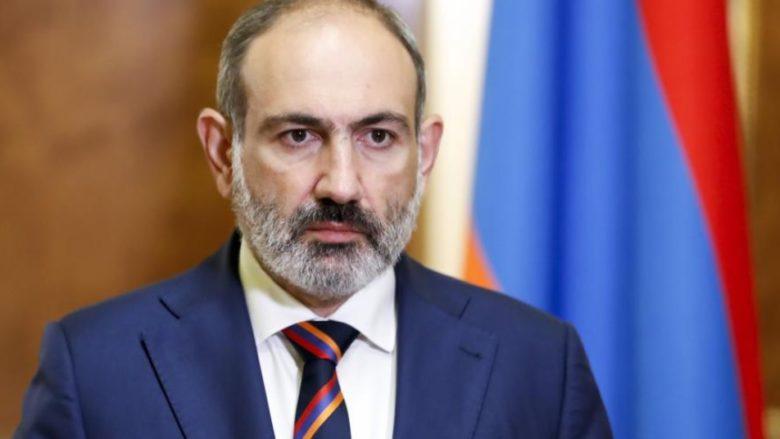 Arménský premiér Nikol Pašinjan; Foto: Repro Česká televize