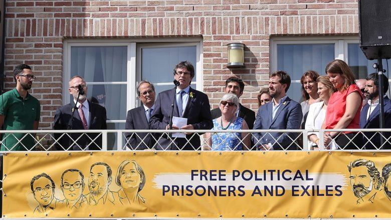 Demonstrace za osvobození politických vězňů v Katalánsku; Foto: Jordi Bedmar / Wikimedia Commons