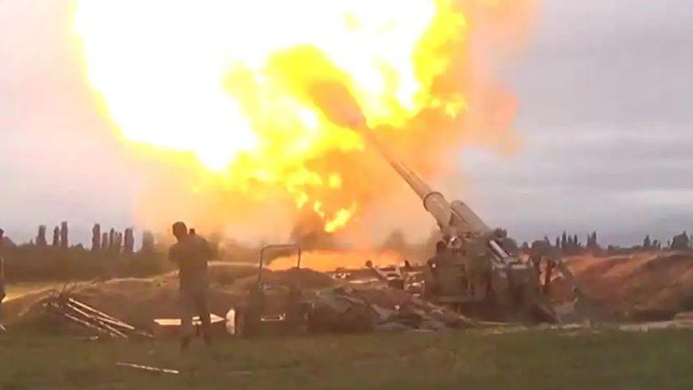 Útočící ázerbájdžánská armáda; Foto: Ministerstvo obrany Ázerbájdžánu