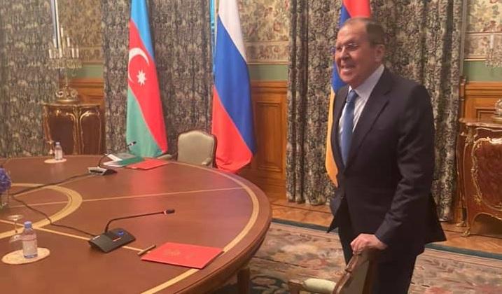 Ruský ministr zahraničí Sergej Lavrov; Foto: Profil Marie Zacharovové na sociální síti