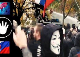 VIDEO: Slovenská policie brutálně potlačila protesty proti vládě. Zraněno bylo i dítě