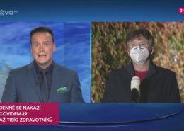 VIDEO: Moderátor TV Nova selhal v rozhovoru s šéfem českých lékařů. Televize se omluvila