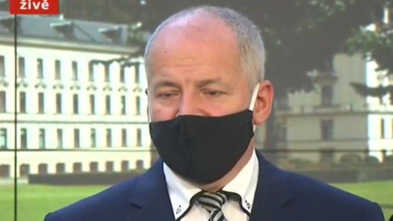 Ministr zdravotnictví (za ANO) Roman Prymula; Foto: Repro Česká televize