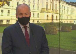 Ministr zdravotnictví Roman Prymula (za ANO); Foto: repro TV Nova