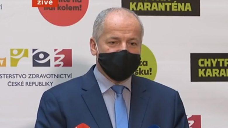 Ministr zdravotnictví Roman Prymula (za ANO); Foto: repro ČT24