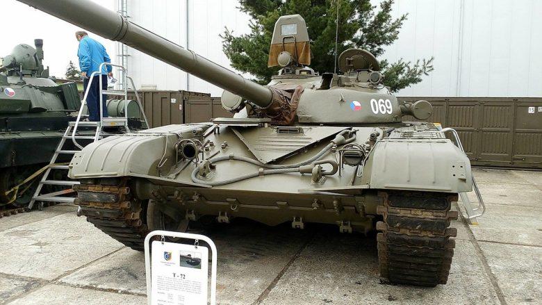 Tank T-72 české armády; Foto: Exik0 / Wikimedia Commons