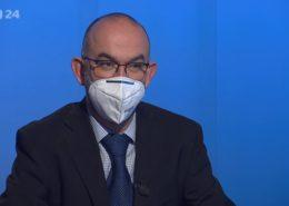 Ministr zdravotnictví Jan Blatný (za ANO); Foto: repro ČT24