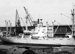 Československá loď Pionýr v rumunské Konstanci, červen 1961; Foto: Babcia Hania / Wikimedia Commons