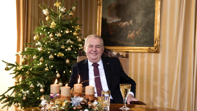 Prezident Miloš Zeman; Foto: uživatelský profil M. Zemana na sociální síti