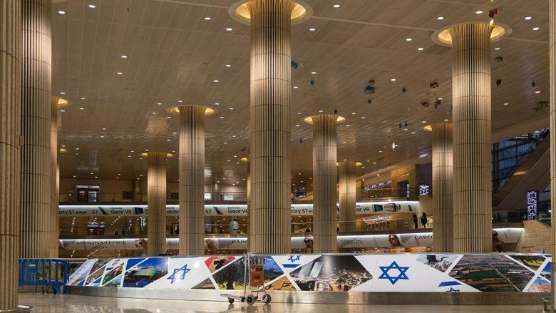 Mezinárodní letiště Bena Guriona v Tel Avivu; Foto: ©  Ralf Roletschek / Wikimedia Commons
