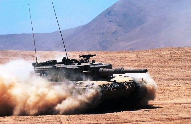 Německý tank Leopard 2 kupuje například Turecko; Foto: Wikimedia Commons