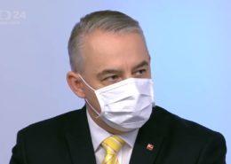 Šéf odborů Josef Středula; Foto: repro Česká televize