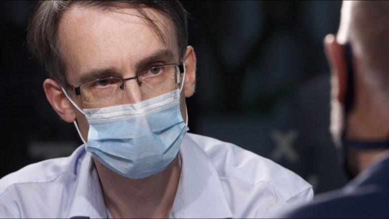 Ústavní právník Jan Kudrna; Foto: Repro DVTV