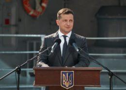 Ukrajinský prezident Volodymyr Zelenskyj; Foto: Profil V. Zelenského na sociální síti