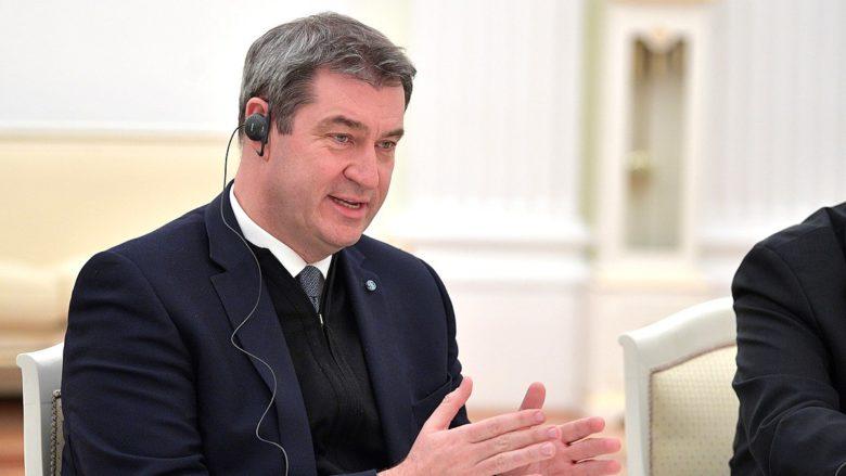 Bavorský premiér Markus Söder; Foto: Tisková služba ruského prezidenta / Wikimedia Commons