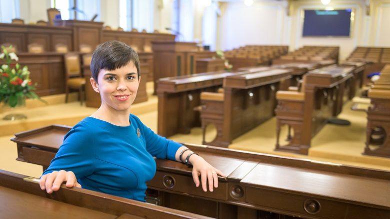Místopředsedkyně Pirátů Olga Richterová; Foto: Pirátská strana
