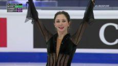 VIDEO: Ruské krasobruslařky ovládly mistrovství světa. Sankcím navzdory