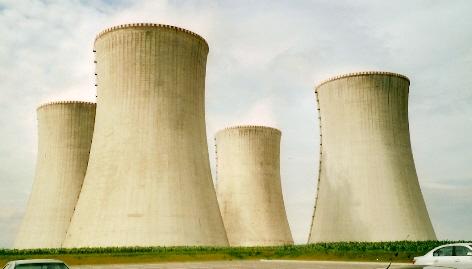 Jaderná elektrárna Dukovany; Foto: Džochy / Wikimedia Commons