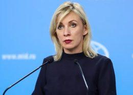 Maria Zacharovová, mluvčí ruského ministerstva zahraničí; Foto: Ministerstvo zahraničí Ruska